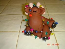 Merry Chris Moose by ryliecat