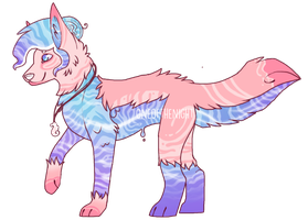 Water Dog [MYO contest] by OneOfTheNight