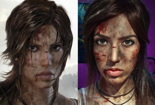 Tomb Raider cosplay comparison by Ailanna