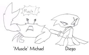 CD- Muscle Michael and Diego by zend