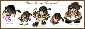 The 5 of TeamC by SuperCaterina