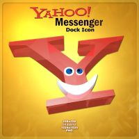 Yahoo Messenger Dock Icon by AlperEsin