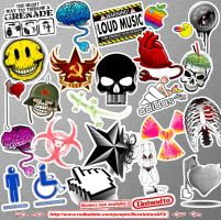STICKERS now available woohooo by R-evolution-GFX