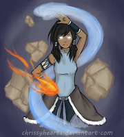 Avatar Korra by ChrissyHearts