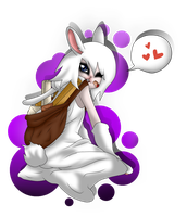 Cony the bunny by SoulEevee99