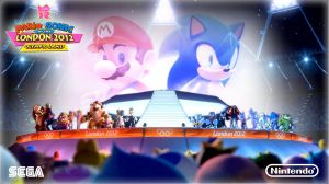 Mario and Sonic Olimpic 2012 by Andrelevydeoliveira