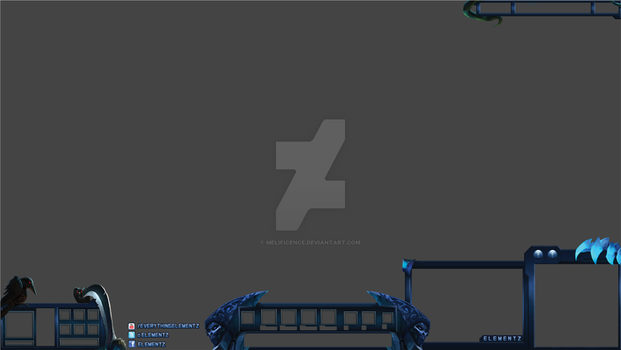 Elementz Support Overlay for League of Legends by Melificence