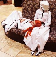 Dozing by BleachcakeCosplay