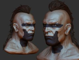 Warrior Sculpt by rickystinger88