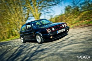VW Golf Mark II by xadacka