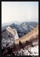 Great Wall of China by Wittermark