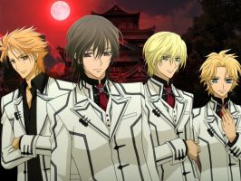 Vampire Knight Wallpaper 1 by Takeshikun2008