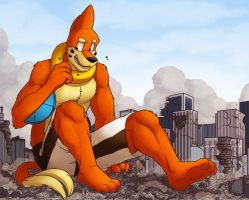 Huge Repairs by buizelmaniac
