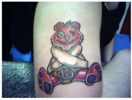 Mr.Bear tattoo by pinka1