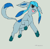 Maybe Wintrier Glaceon by Artrookie--yup