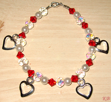Valentine's Day Bracelet by DiscoPotato