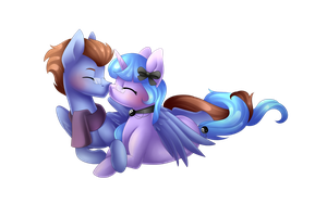 Cuddles by Scarlet-Spectrum