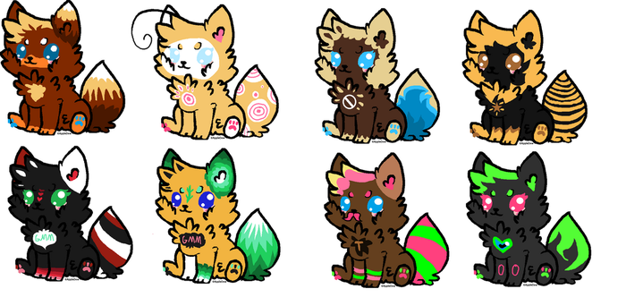 Shipping Adopts 2 'Guess to Adopt' Youtuber ships by KitkatTheArtist