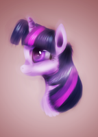 Twilight Sparkle portrait by fra-92