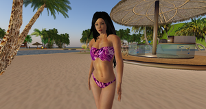 Second Life - Model Photo Shoot by Yi-Phan