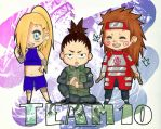 chibi team 10 by yuipo