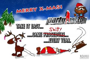 x-mas ...oh well... by Janus1810