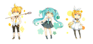 TRIO Cheebs by kumakije