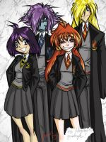 Kiss Hogwarts Goodbye by persephohi