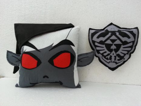 Handmade Dark Toon Link with Dark Hylian Shield by RbitencourtUSA