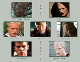 Many Faces Of Paul Bettany by PaulBettanyFan