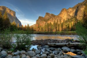 Merced River by PaulWeber