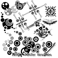 PS7 MWG Vector Brushes by marinewarrior