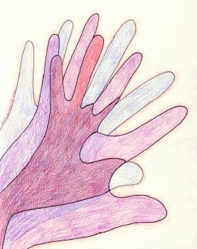 Blue Hands by kiki-isbeing-purples