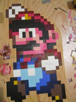 Super Mario World Beruit Table (WIP) by conman--87