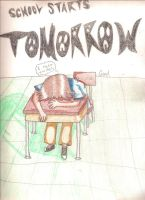 School is TOMORROW by StudsandPierces