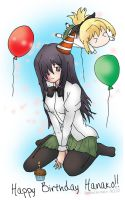 Hanako's Party by groundzeroace