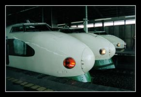 Shinkansen by elegaer-again