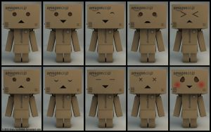 My Danbo revised with new faces by Dracu-Teufel666