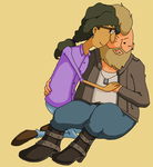 Older Louis x Gus for Gemma by SamCyberCat