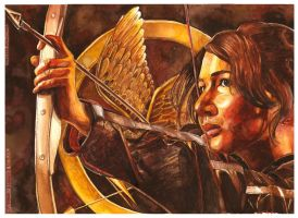 The Mockingjay by thaomani