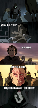 Legend of Korra - Amon's Identity... by yourparodies