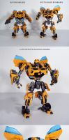 Battle Blade Bumblebee by Unicron9
