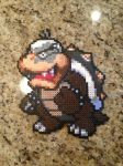 Morton Koopa Perler Bead by powerranger02