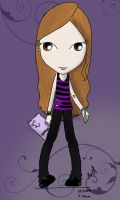 Drawing, me - ID by Mary-Aurora