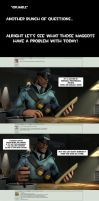 Ask Strict Soldier #54 by Menaria