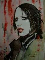 Marilyn Manson. King of Hearts by susannavaris