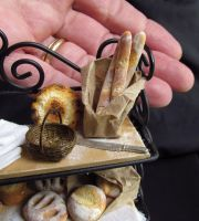 Tiny bread rack by GoddessofChocolate