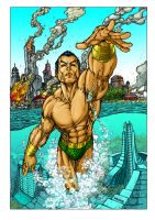 Namor by Turner color TMD by DONAHUE-t