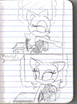 Shadow the Hedgehog comic by SammySmall