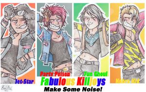 Fabulous Killjoys by dragon-flies